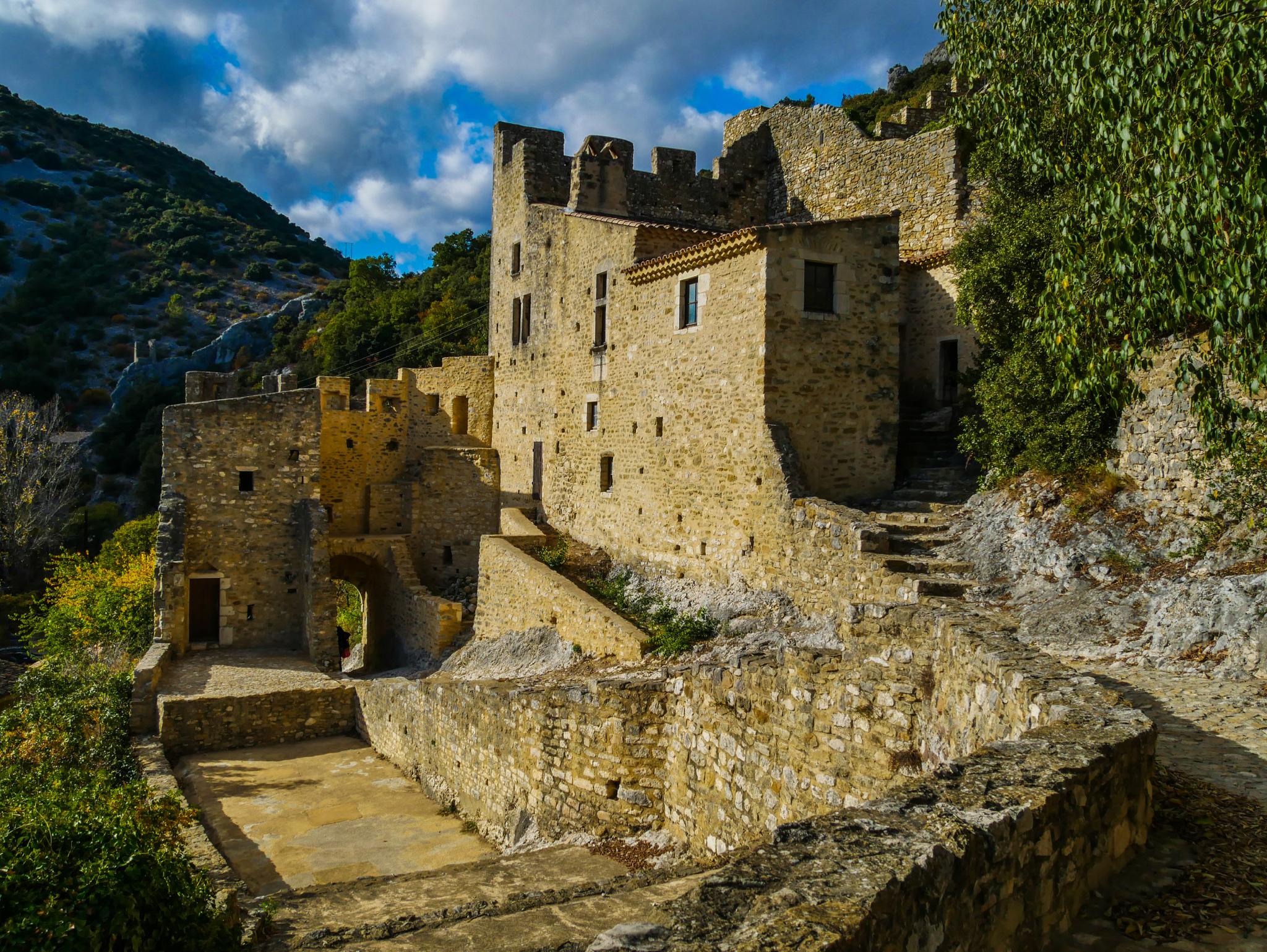 Montée sur le château