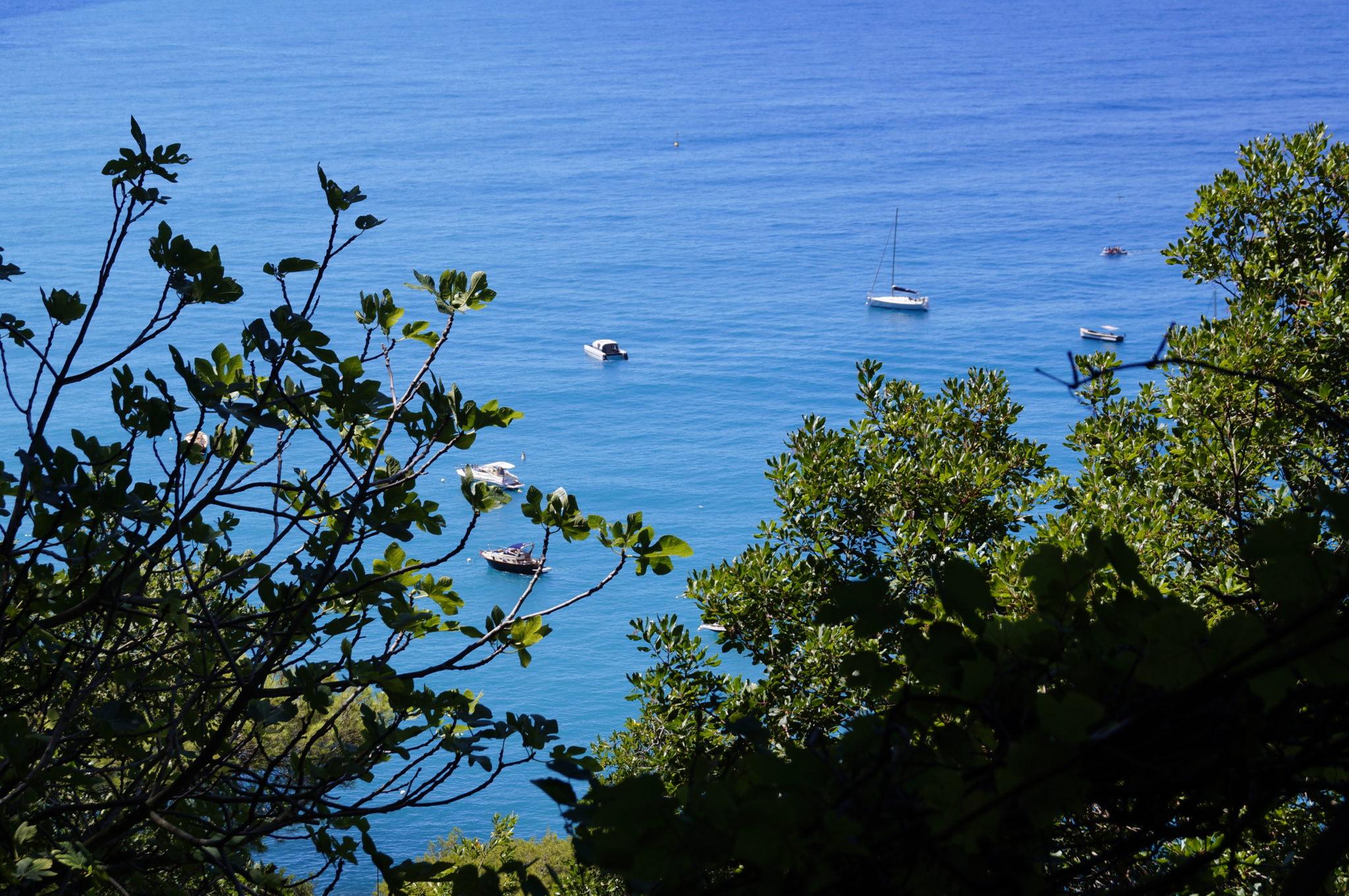 Route vers Punta Chiappa