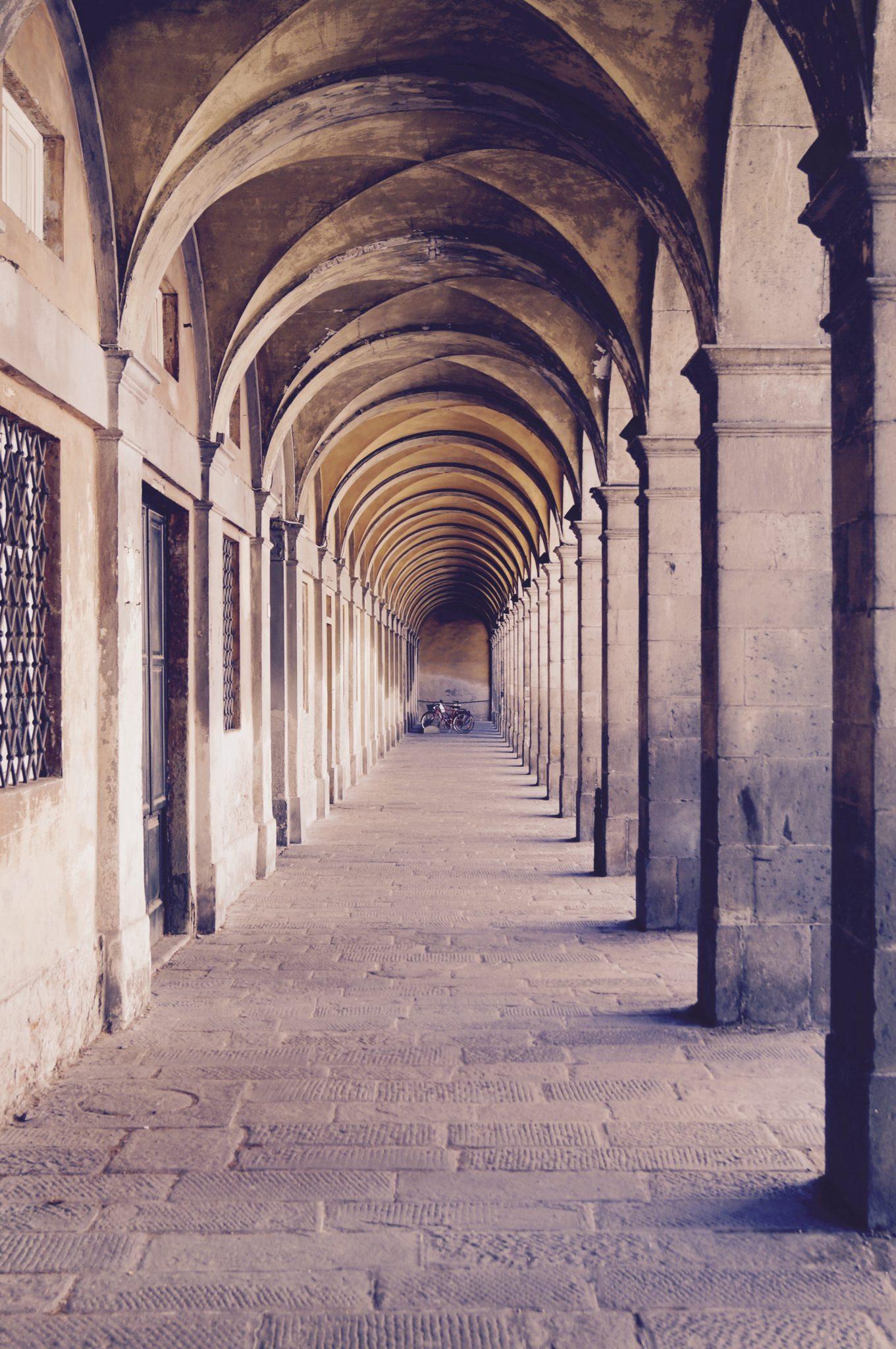 Arches à Lucca