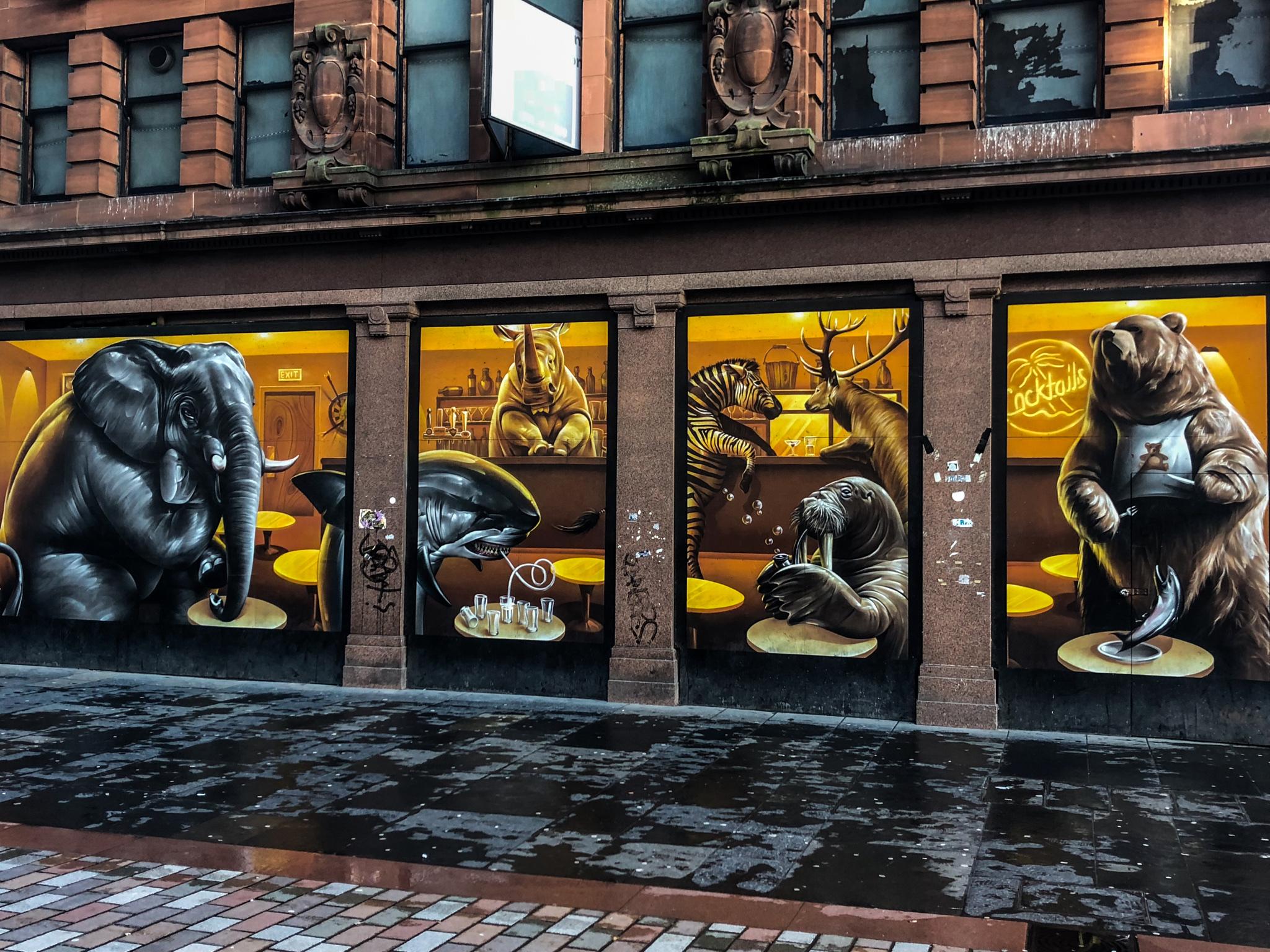 Fresque de Glasgow