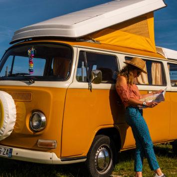 Un week-end dans la drôme en combi Volkswagen