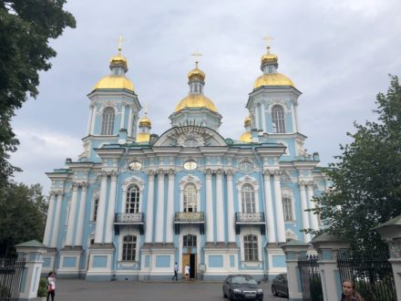 La messe orthodoxe en Russie