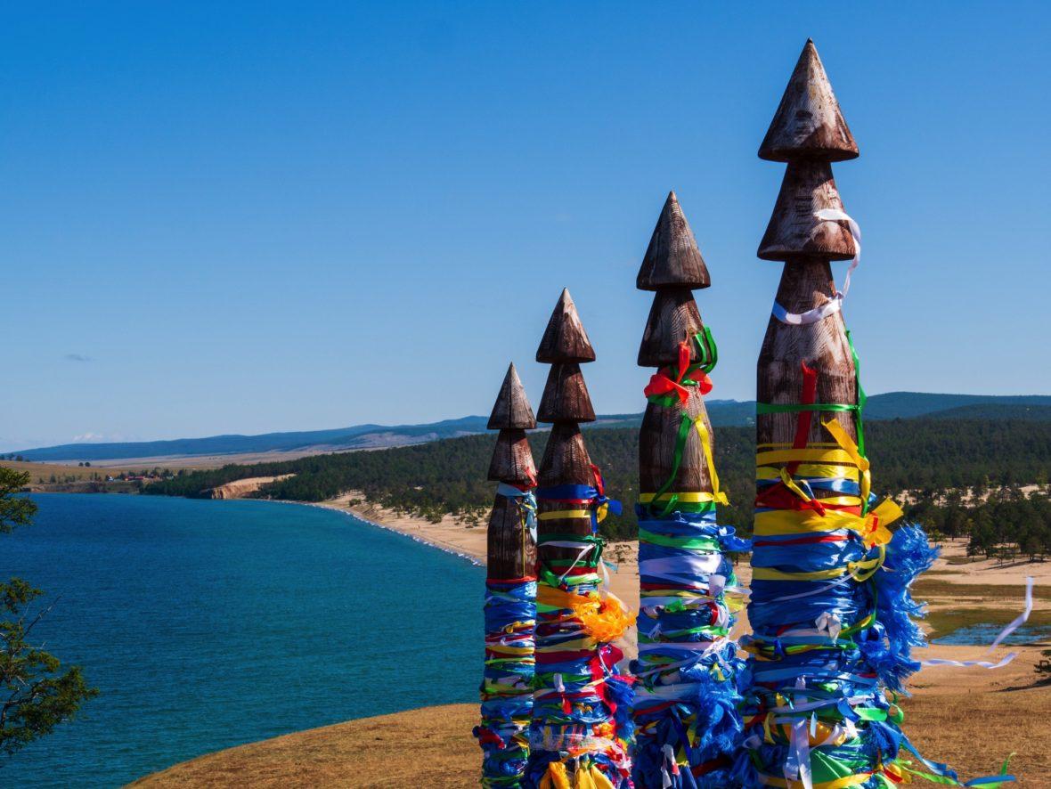 L'île d'Olkhon sur le plus grand lac du monde