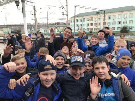 Nos rencontres en Russie