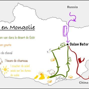 Bilan de 12 jours en Mongolie