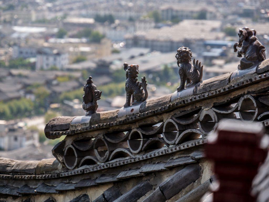 Toit d'une pagode