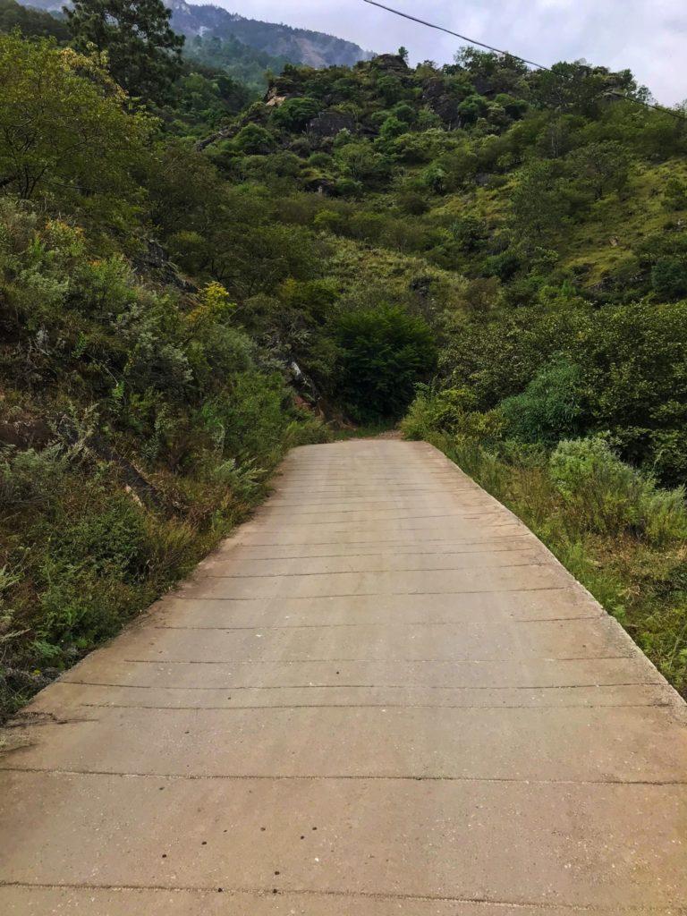 La route après la half way