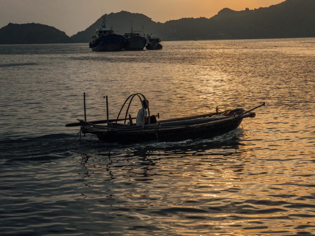 Un bateau de pêcheur