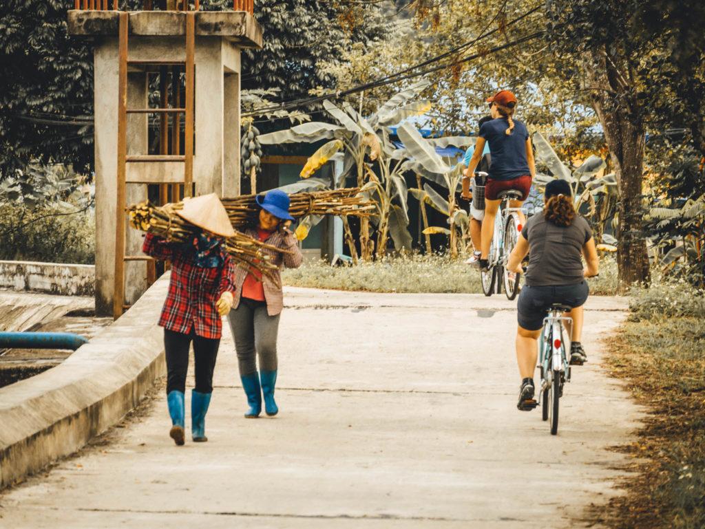 Vélo jusqu'au Viet Hai