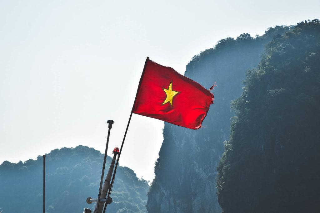 Le drapeau du Vietnam