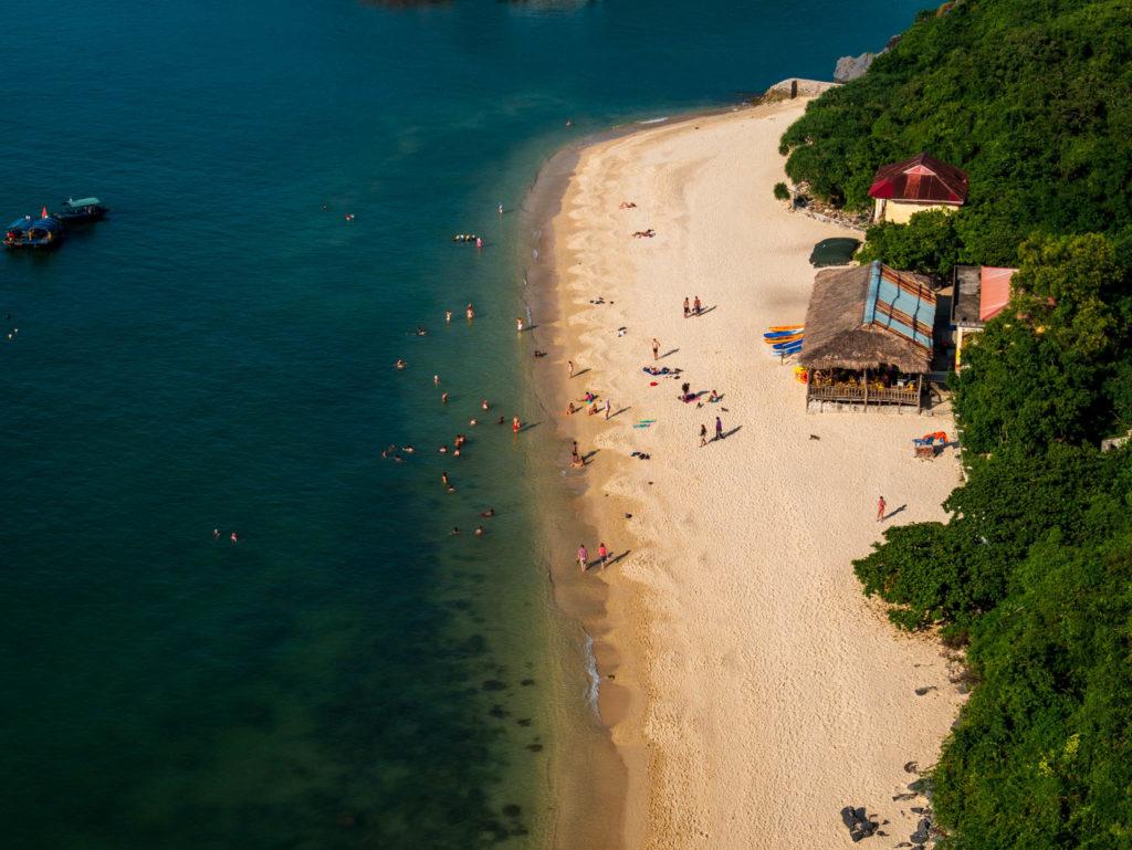 La plage de Monkey Island