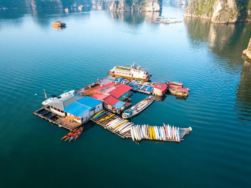 Location de kayak sur l'eau