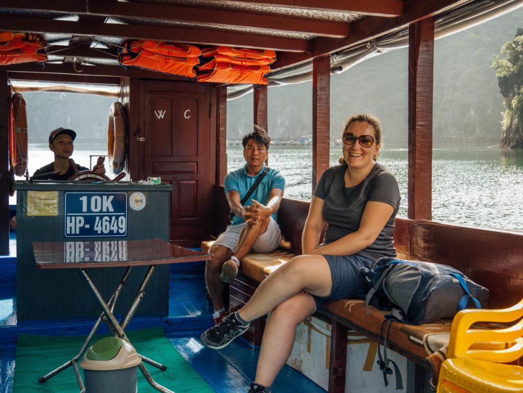 Seuls sur le bateau