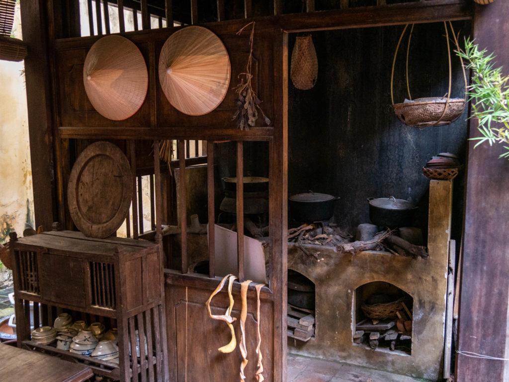 Une cuisine de l'époque