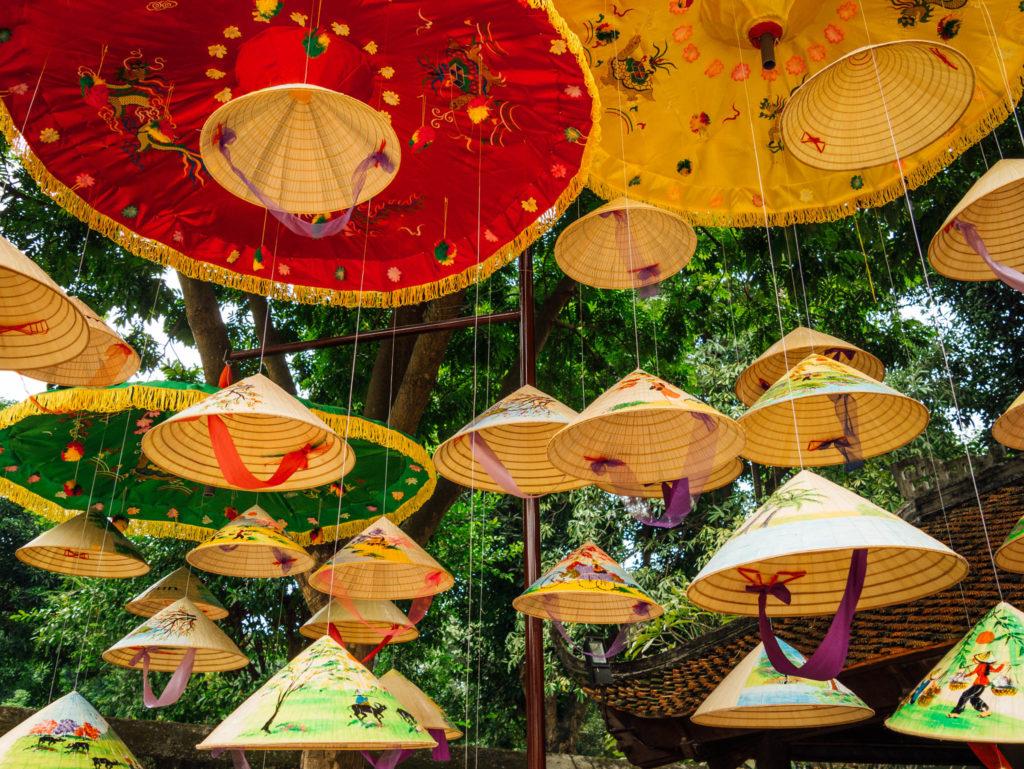 Des chapeaux vietnamiens