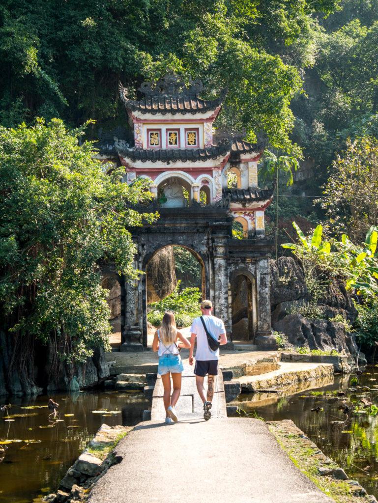 L'entrée d'une pagode