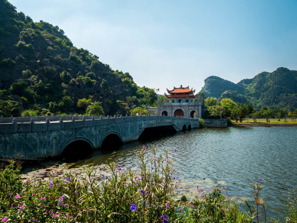 L'entrée d'une ancienne cité Hoa Lu