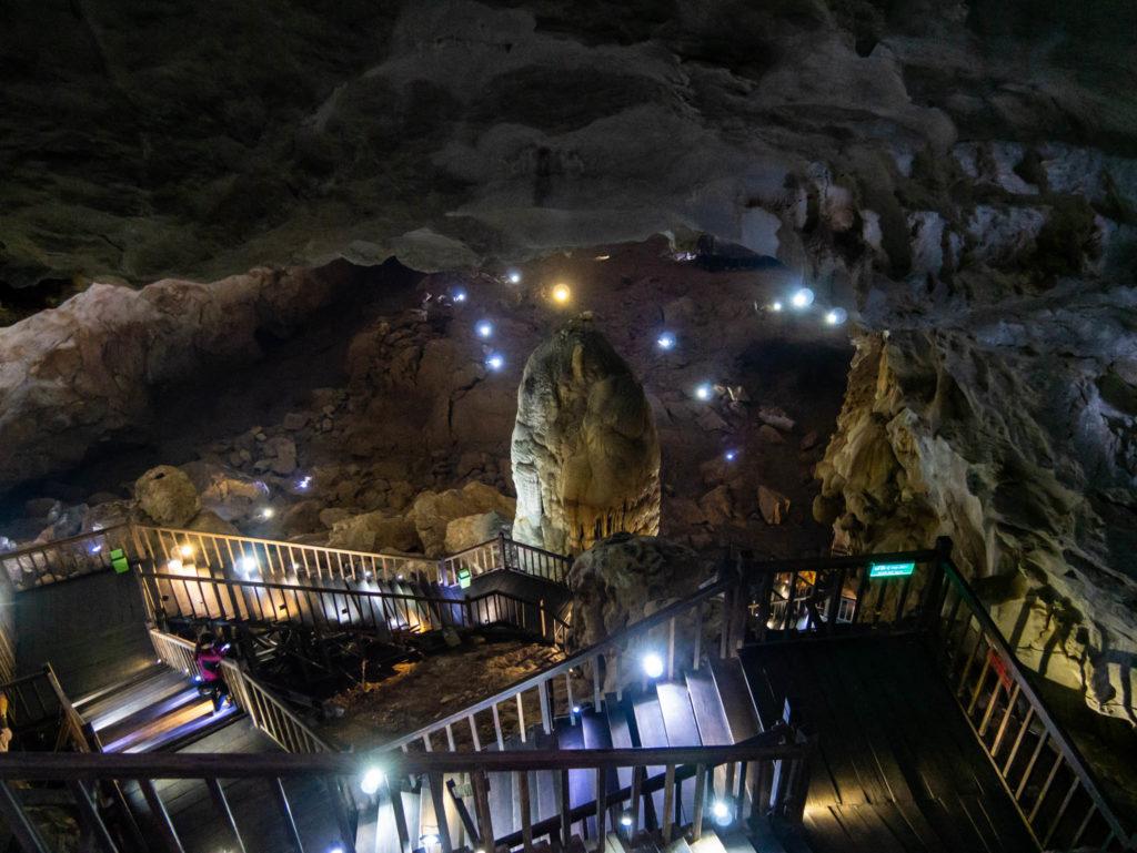 Entrée de la grotte du paradis