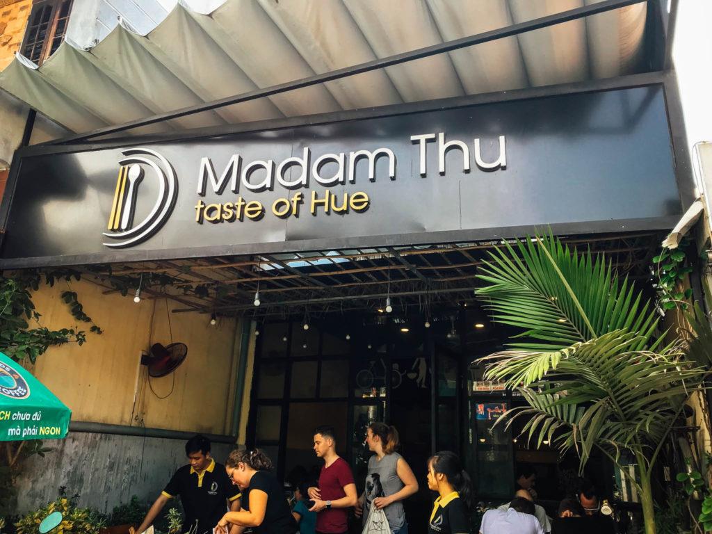 Un des meilleurs restaurants de notre voyage