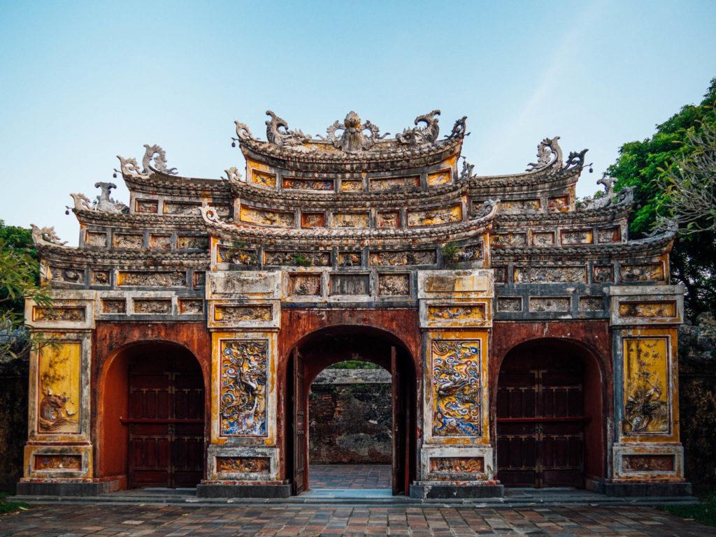 Une des portes de la citadelle