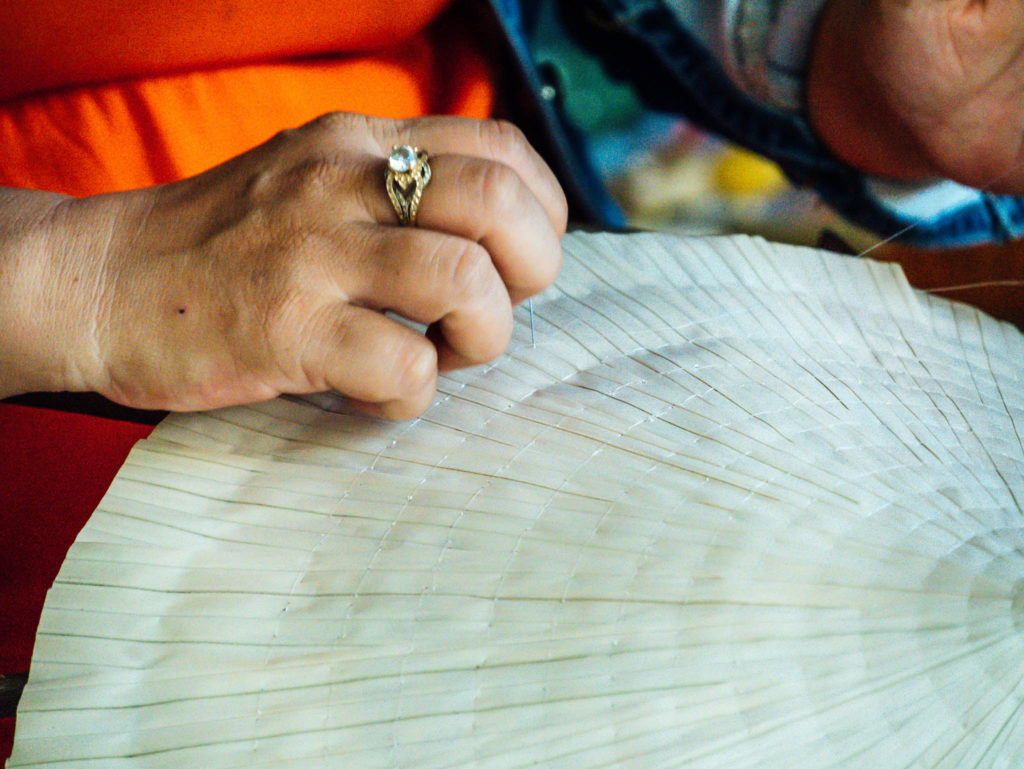 Fabrication de chapeaux traditionnels