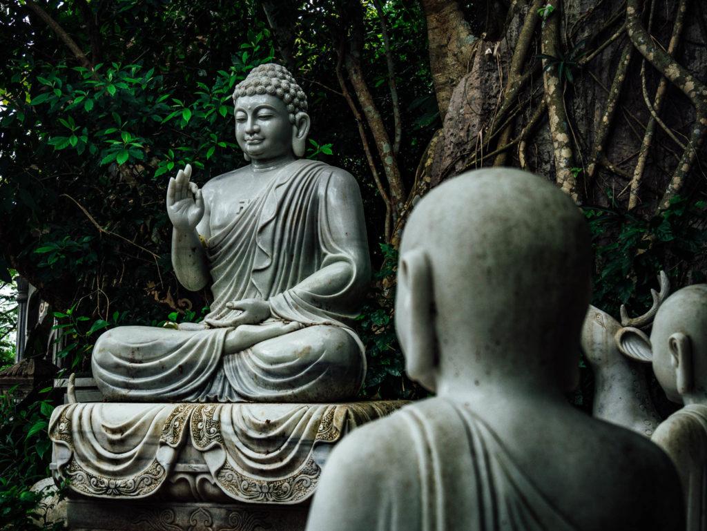 Un des bouddhas de la montagne de marbre