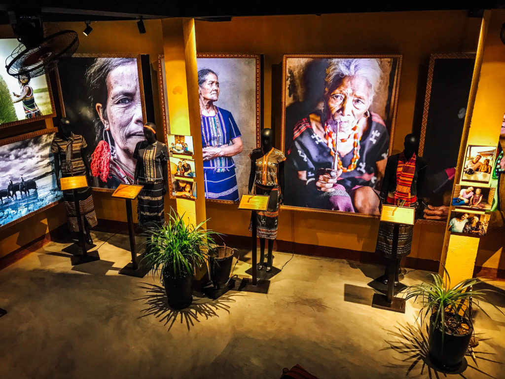 Le musée sur les ethnies du Vietnam