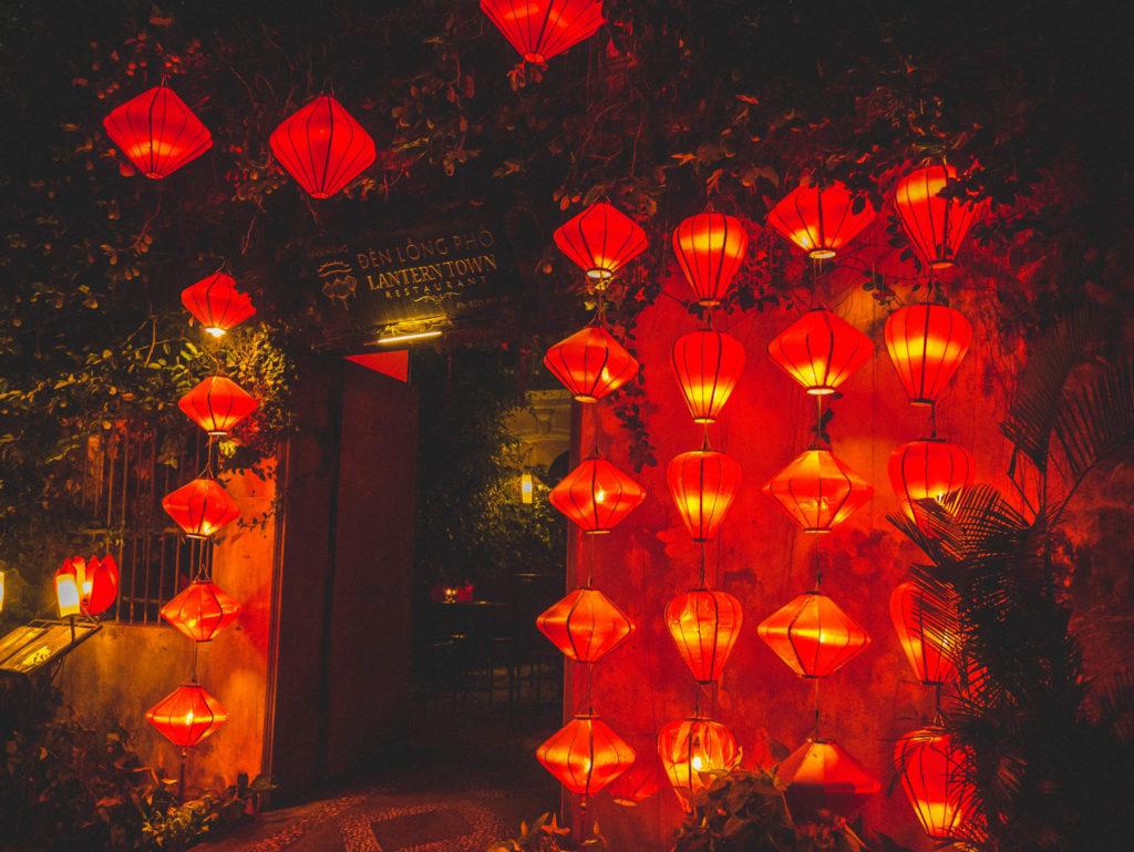 Des lanternes par milliers