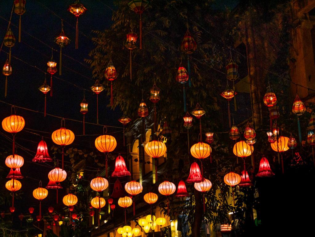 Je vous ai déjà parlé des lanternes de Hoi An ?