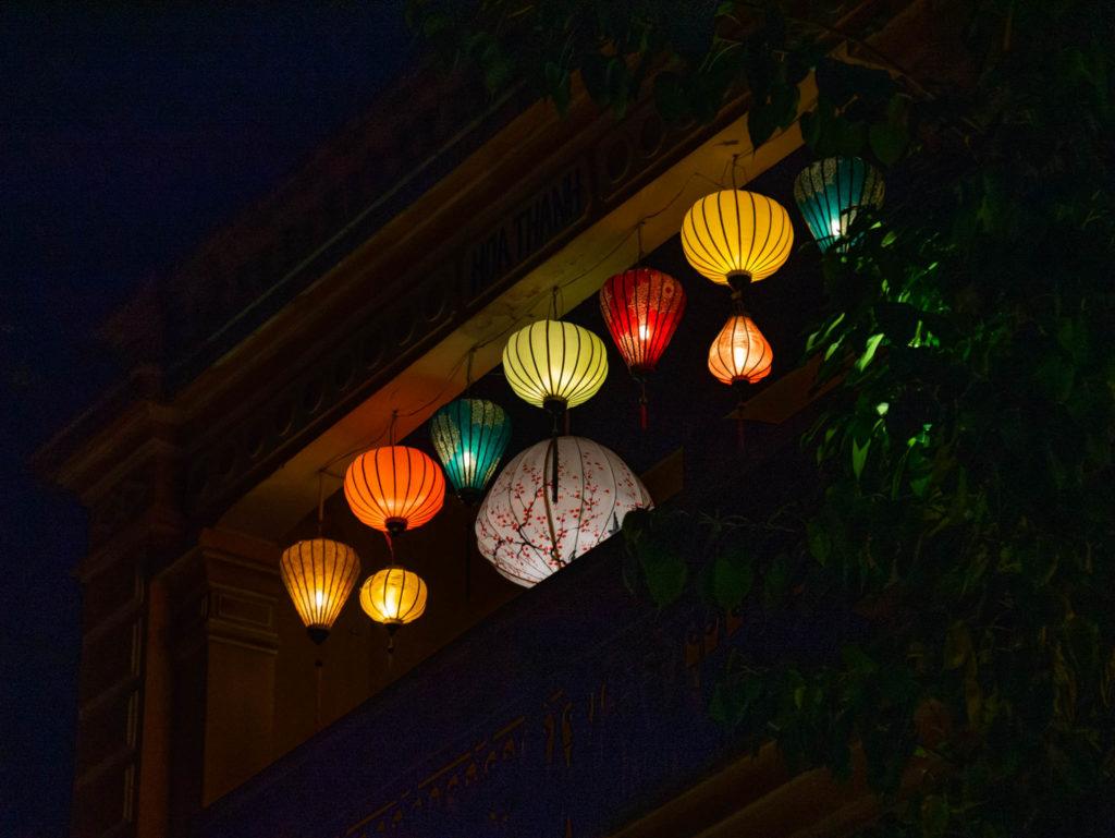 Un balcon à Hoi An
