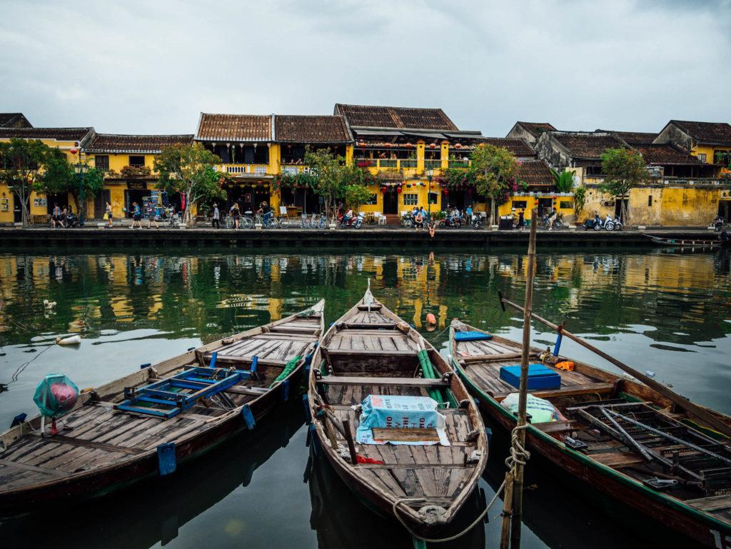 Les barques de Hoi An