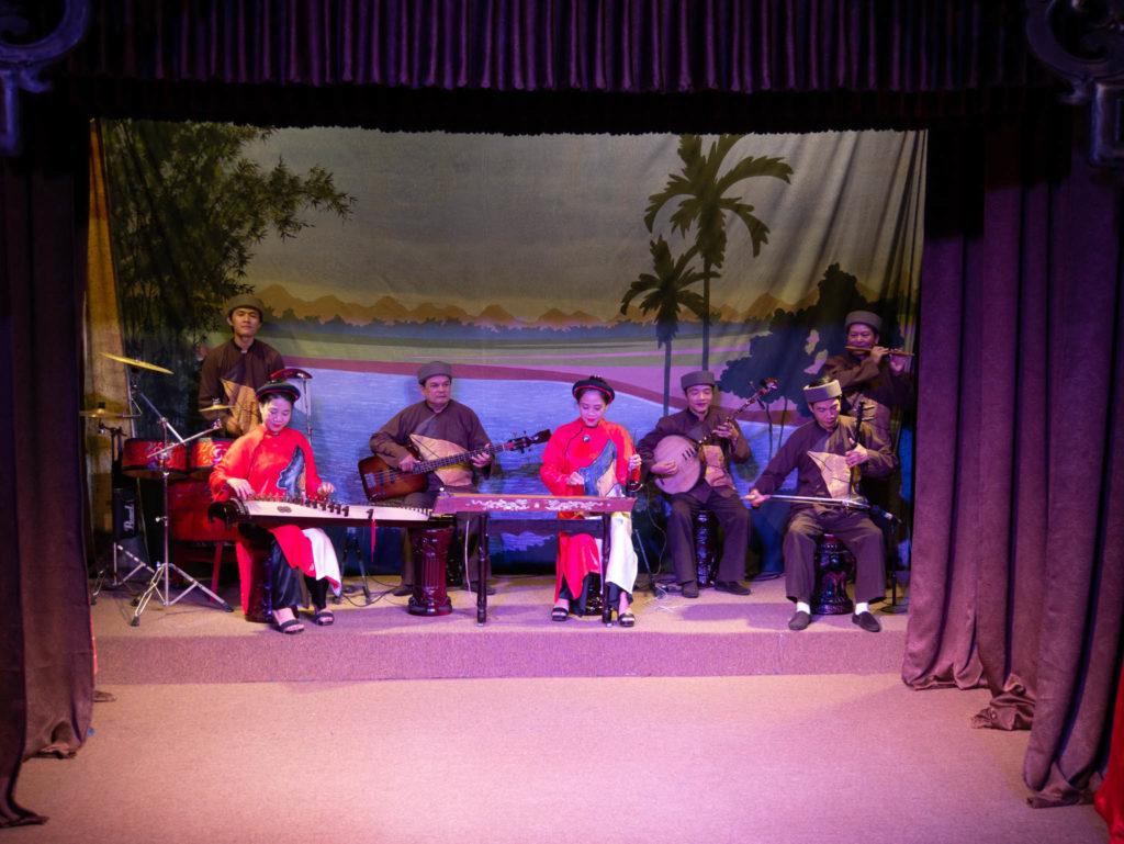 Le spectacle folklorique de Hoi An