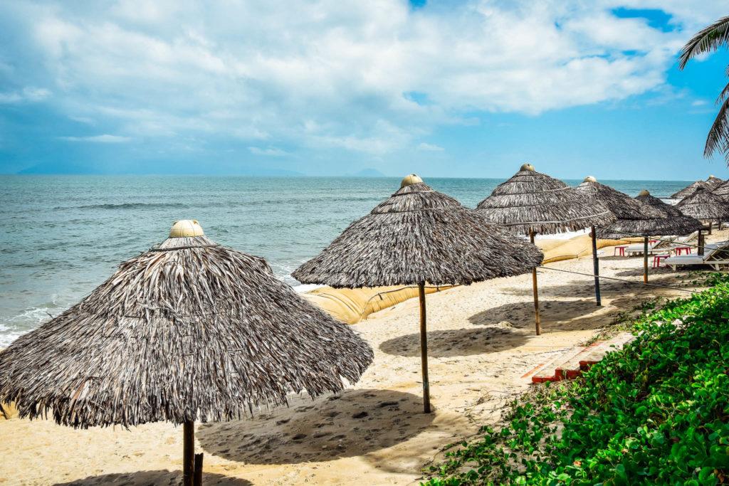 La plage de Hoi An