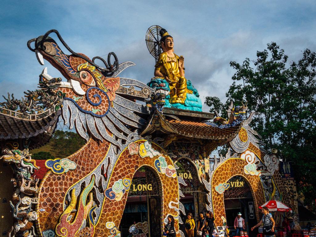 La pagode en mosaïque