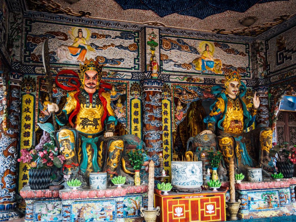 L'intérieur de la pagode