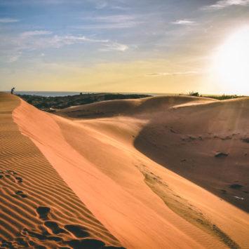 Mui Ne, plage, piscine et dunes de sable