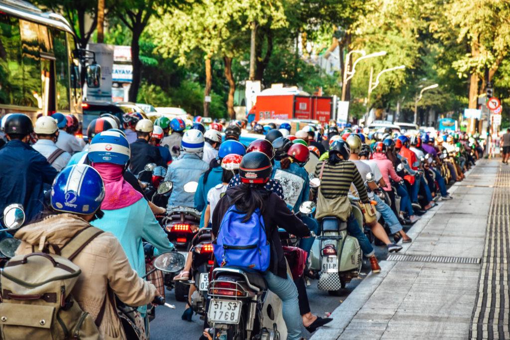 Ho-Chi-Minh, la ville des scooters
