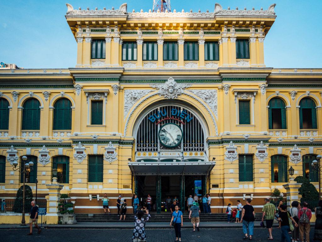 La poste d'Ho-Chi-Minh
