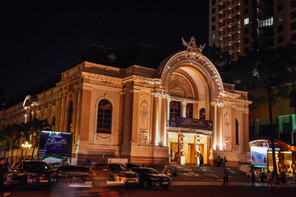 L'opéra d'Ho-Chi-Minh