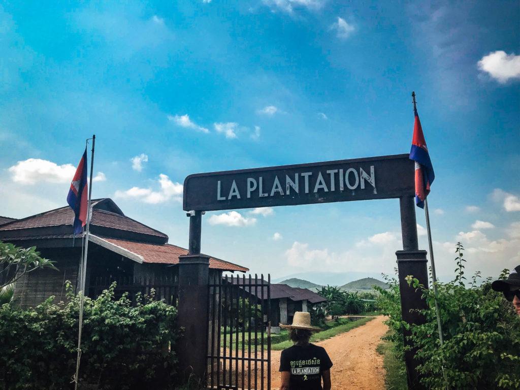 L'entrée de La Plantation