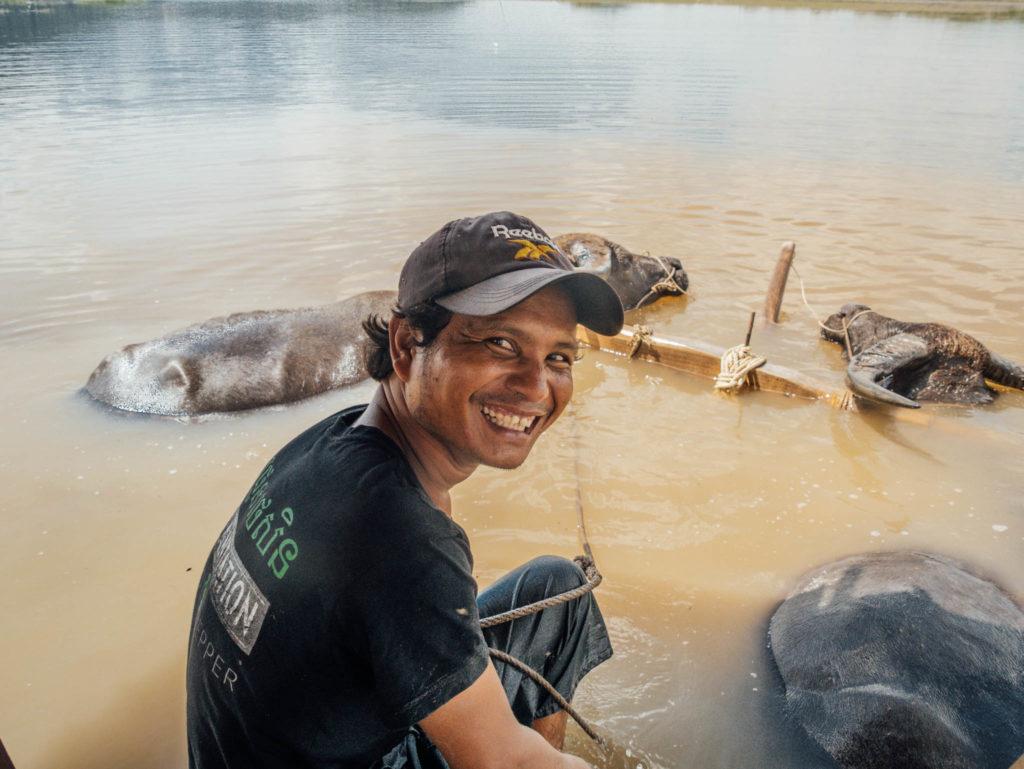 Le sourire cambodgien