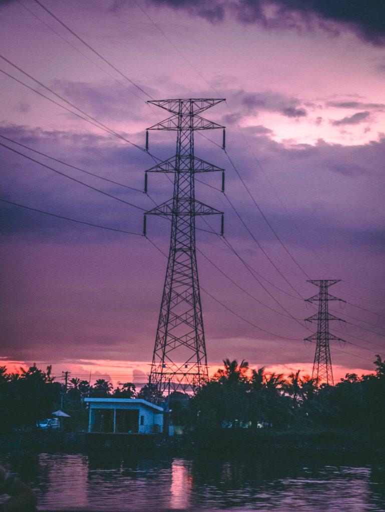 Le soleil se couche sur Kampot