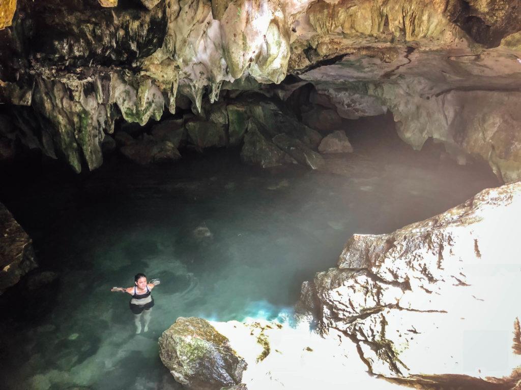 La Swimming Cave