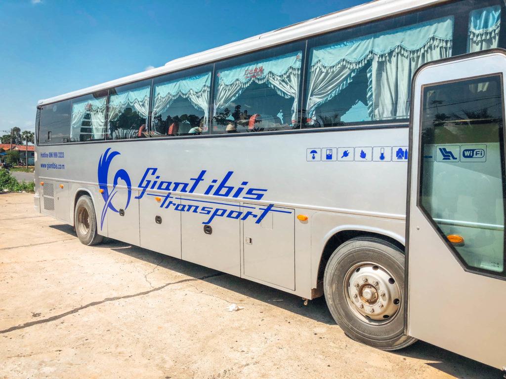 Le bus Giant Ibis