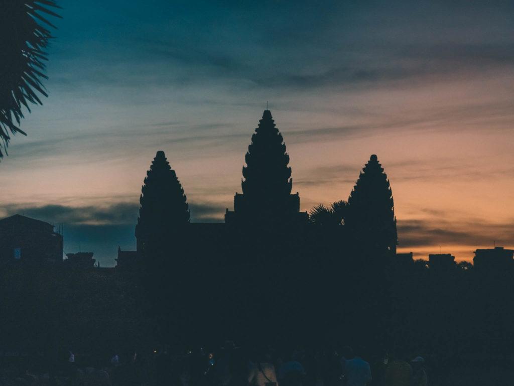 Angkor Vat à l'aube