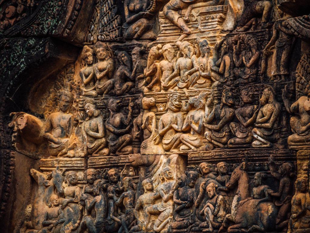 La finesse des détails au Banteay Srei
