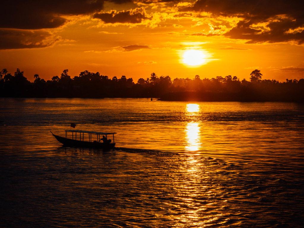 Un coucher de soleil incroyable