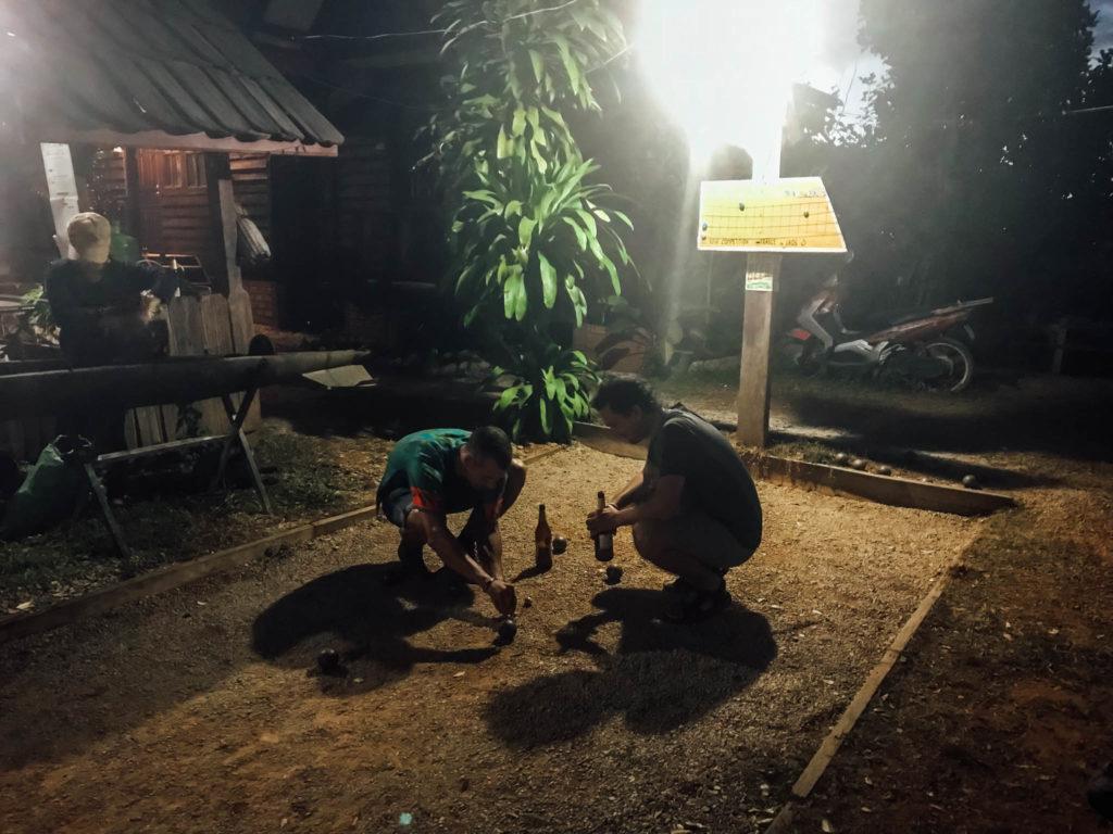 Soirée pétanque : Laos contre France