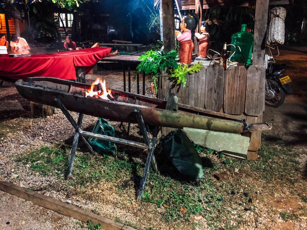 Le barbecue : une demi bombe!