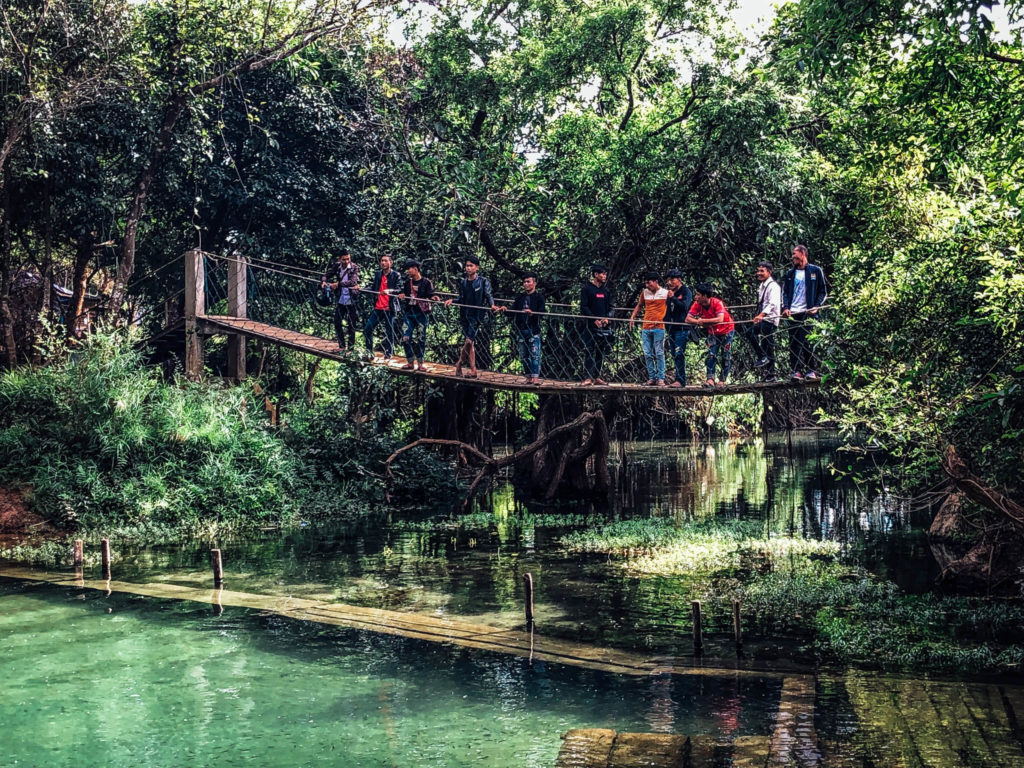Les laotiens au zoo